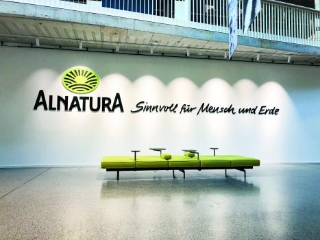 Alnatura Campus Empfangshalle