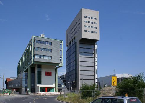 PEC & DOCK, Medienhafen, Düsseldorf