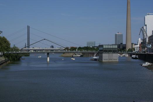 Brücke Am Handelshafen, Medienhafen, Düsseldorf