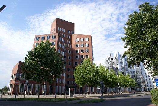 Neuer Zollhof, Medienhafen, Düsseldorf