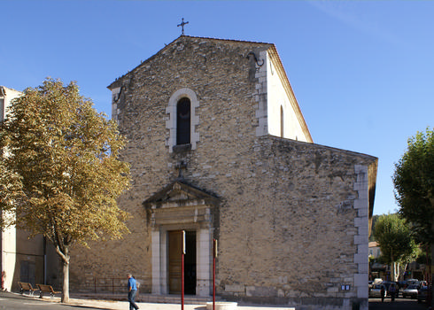Riez - former cathedral