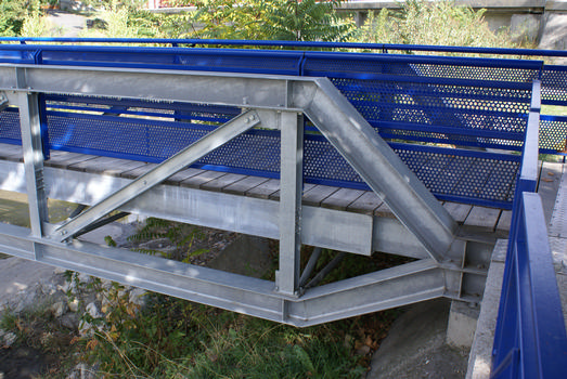 Digne-les-Bains - Footbridge