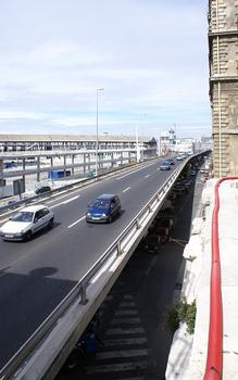 Autoroute A 55 – Joliette-Hochbrücke