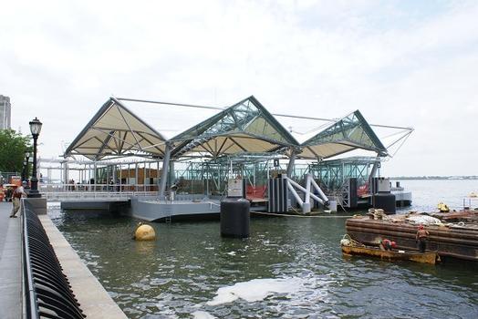 Hudson River Pier at Battery Park