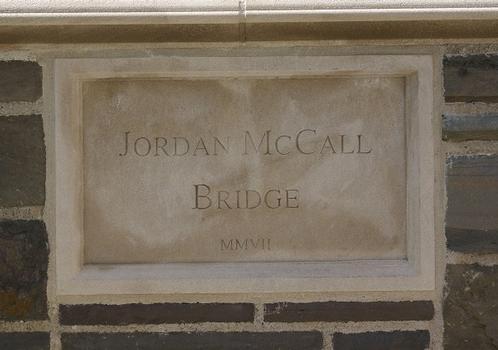 Princeton University – Jordan McCall Bridge