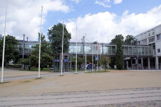 Brücke Stadthalle-Hotel Bielefelder Hof
