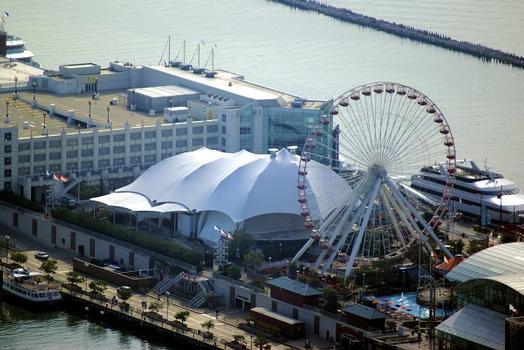 Skyline Stage & Navy Pier Ferris Wheel