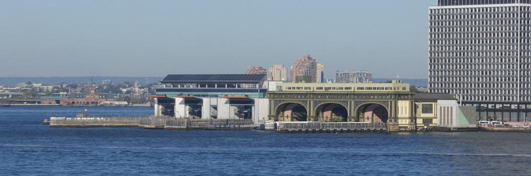 Staten Island Ferry Building & Governors Island Ferry Building