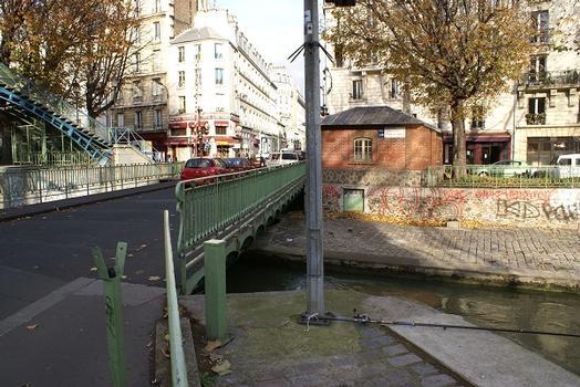 Canal Saint-Martin – Pont tournant de la Grange-aux-Belles