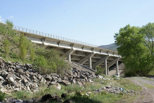Kanalbrücke Malijai