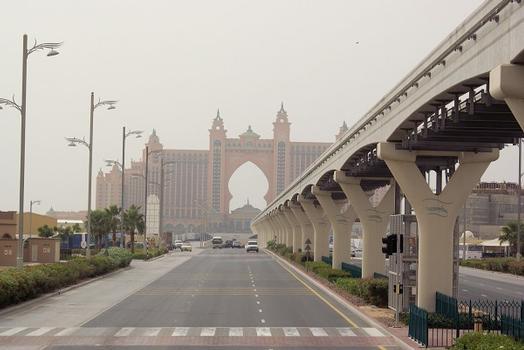 Palm Jumeirah Monorail – The Palm Jumeirah