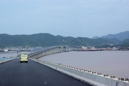 Connection routière des îles de Zhoushan – Pont de Jintang
