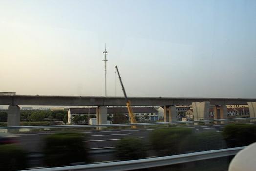 Hochgeschwindigkeitsstrecke Peking - Shanghai