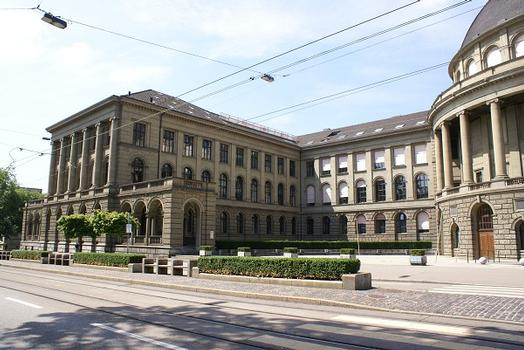 Bâtiment principal de l'École polytechnique fédérale de Zurich