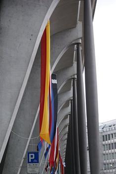 Vorhalle des Bahnhofs in Luzern