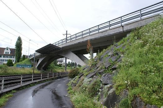 Brücke im Zuge der Züricher Straße