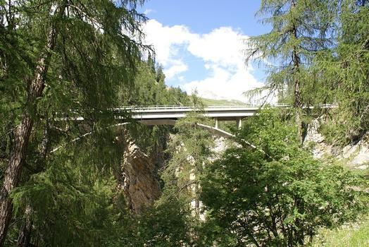 Averserrheinbrücke Cröt