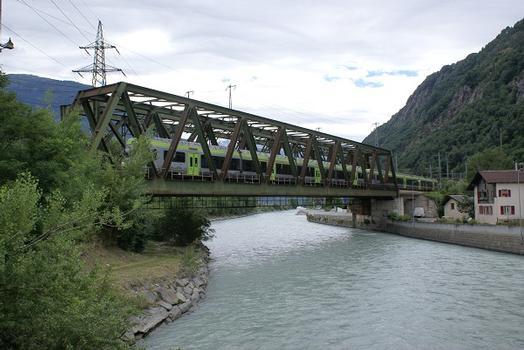 Zweite Rhonebrücke Brig