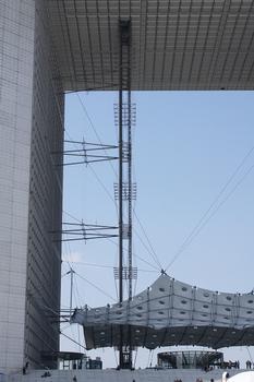 Grande arche de la Défense – Nuage de la Grande arche de la Défense