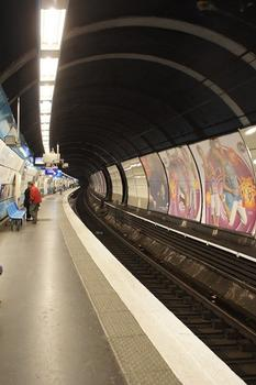 Saint-Michel - Notre-Dame Station