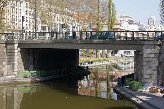 Canal Saint-Martin – Pont de la rue Louis-Blanc