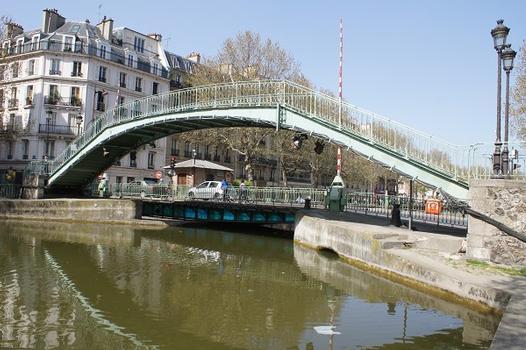 Canal Saint-Martin – Passerelle Alibert