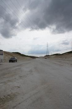 Autoroute A 4 - Südliche Umfahrung von Reims im Bau