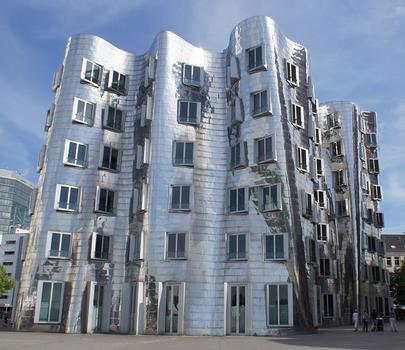 Neuer Zollhof – Medienhafen Düsseldorf – Der neue Zollhof - Gebäude B
