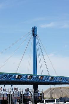 Mautstelle der Brücke zur Insel Ré