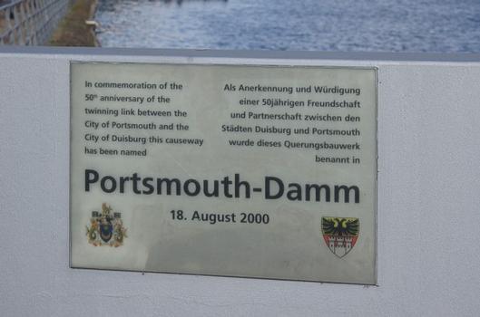 Portsmouth-Damm