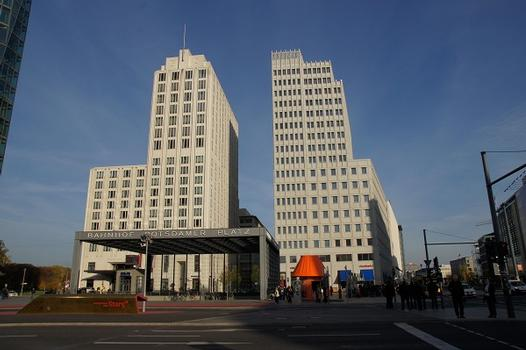 Beisheim Center – The Ritz-Carlton / Tower Apartments – Potsdamer Platz Station – Berlin Marriott Hotel