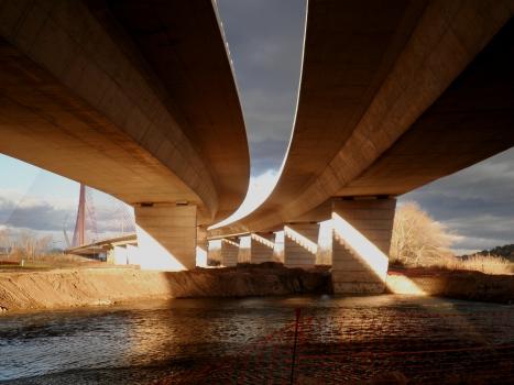 Pont à haubans de Talavera de la Reina