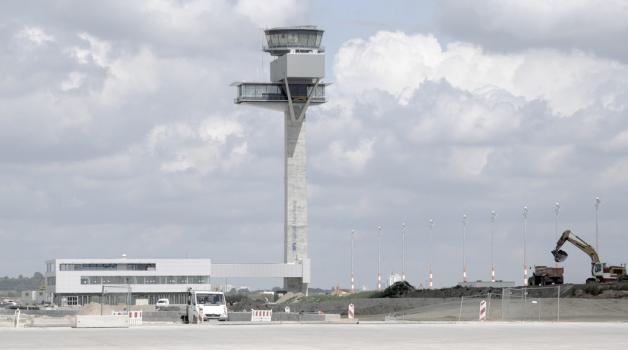 Tour de contrôle de l'aéroport Berlin-Brandenburg (BER)