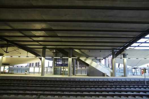 Gare de l'aéroport de Leipzig/Halle