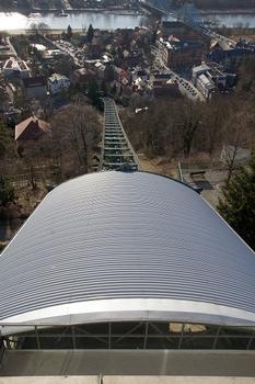Traggerüst der Schwebebahn Dresden-Loschwitz