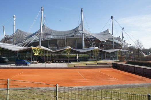 Olympic Summer Games 1972 – Olympiapark – Werner-von-Linde-Halle – Munich Olympic Stadium