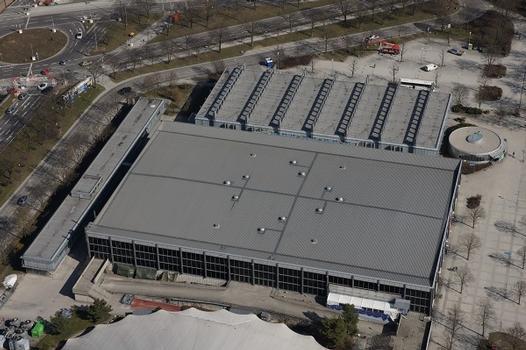 Olympiapark – Olympia-Eisstadion – Trainingshalle (Olympia-Eissportzentrum)
