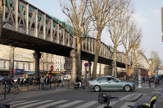 Paris Métro Line 2 – Viaduc du Boulevard de la Chapelle I