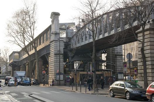 Station de métro Barbès - Rochechouart (Ligne 4)