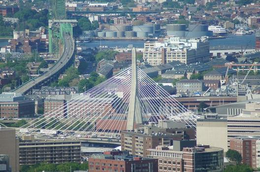 Leonard P. Zakim Bunker Hill Brücke