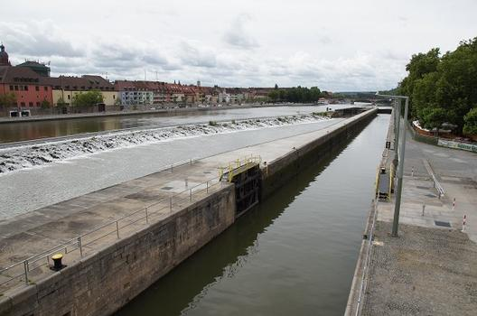 Ecluse et barrage de Würzburg