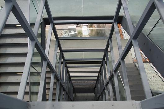 Treppenaufgang Severinsbrücke