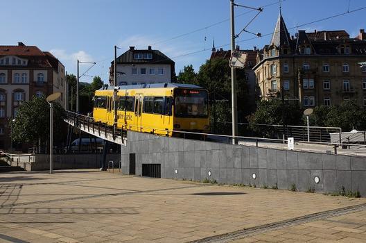 Zahnradbahnbrücke Marienplatz