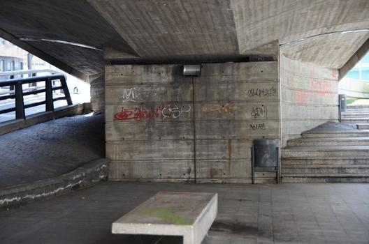 Pont Pla Tunnel Access Bridge