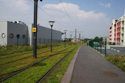 Linie A der Straßenbahn Valenciennes