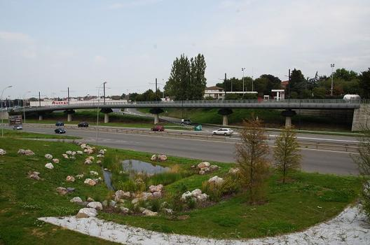 Straßenbahnbrücke Rue des Ardennes