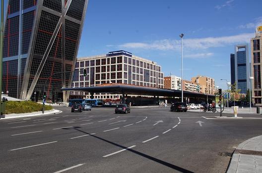 Plaza de Castilla Bus Terminal