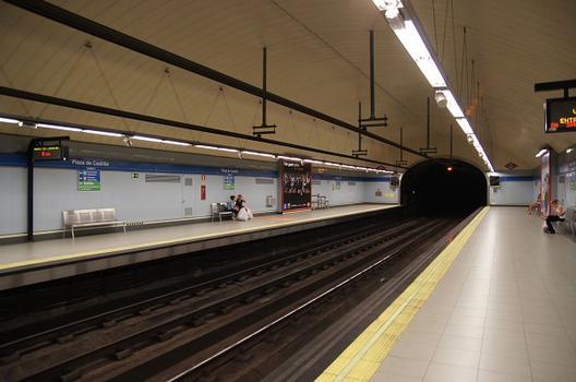 Station de métro Plaza de Castilla