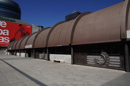 Bahnhof Nuevos Ministerios