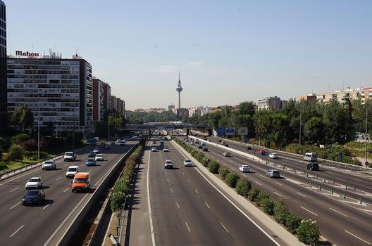M-30 Ringautobahn Madrid
